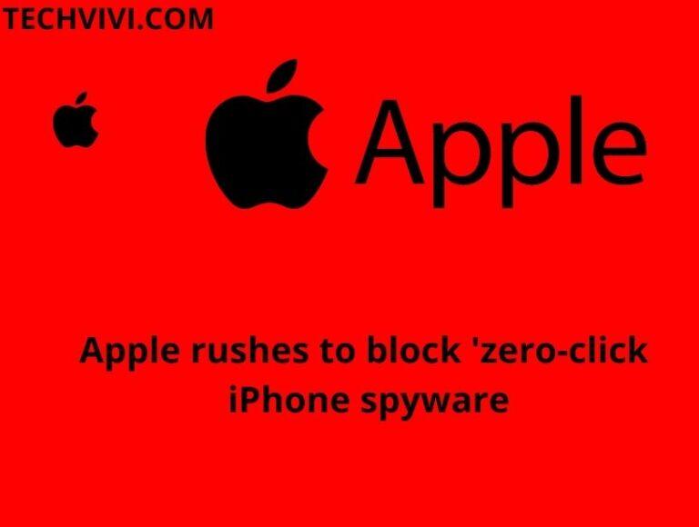 Apple block 'zero-click' iPhone spyware-how to detect spyware on iPhone