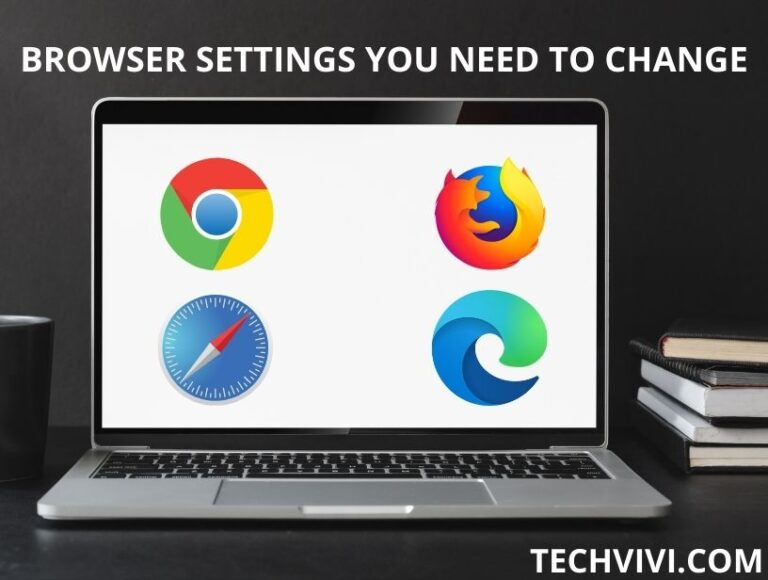 For  privacy, you need to change these browser settings