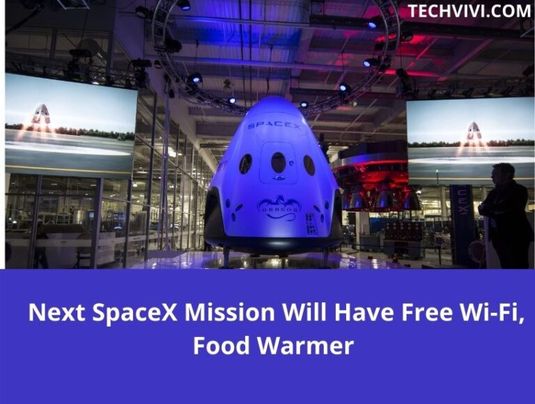 Elon Musk Twitter Says Next SpaceX Mission Will Have Free Wi-Fi and Food