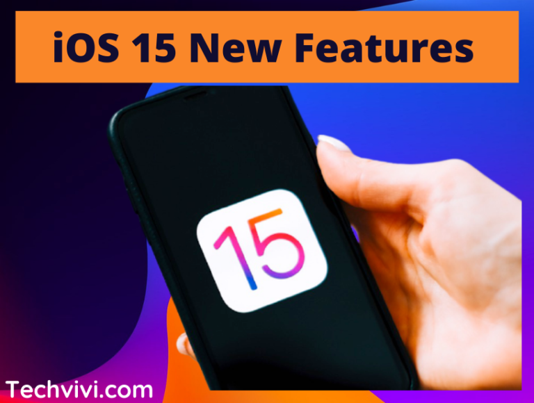 New features available with iOS 15