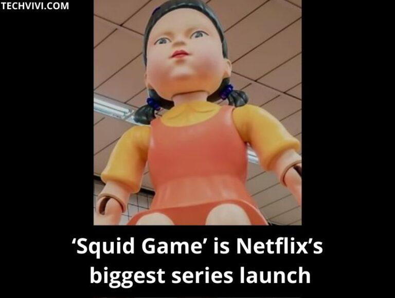 Netflix calls Squid Game its biggest series ever