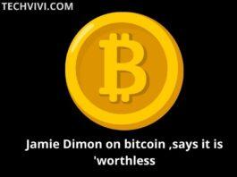 Jamie Dimon on bitcoin